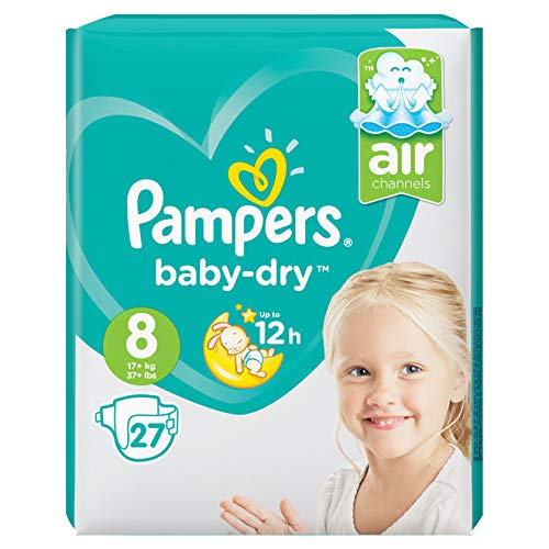 Pampers Gr. 8 Baby Dry 27 Stück