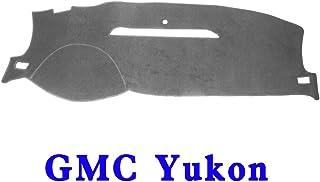 JIAKANUO Auto Car Dashboard Dash Board Cover Mat Fit for GMC Yukon 2007-2014 (Yukon 07-14, Gray MR-001)