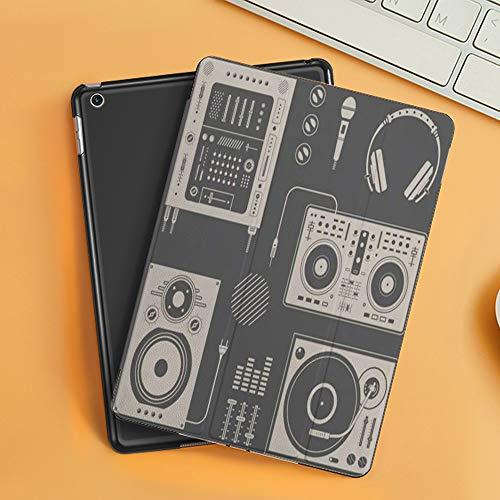 Funda iPad 10.2 Inch 2018/2019,Audio Música Varios DJ