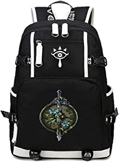 Cosstars The Legend of Zelda Jeu Knapsack Sac /à Dos Ordinateur Portable Cartable Laptop Backpack pour /Étudiant