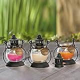 Weltbild Duftkerzen Mini-Laterne 3er-Set - Duftkerzen im Glas als Windlicht Outdoor Laternen für Draußen Frauen Geschenk Kerzen im Glas als Deko Frühling orientalische Deko Home Deko mit Duft - 3