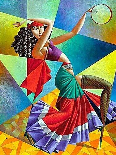 AJleil Puzzle 1000 Piezas Pintura de Regalo de Arte Abstracto Puzzle 1000 Piezas Juego de Habilidad para Toda la Familia, Colorido Juego de ubicación.50x75cm(20x30inch)
