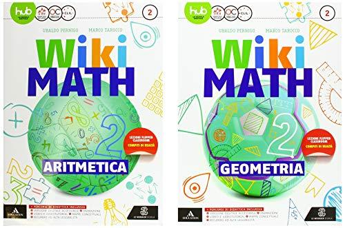 Wiki math. Artimetica-Geometria. Per la Scuola media. Con e-book. Con espansione online (Vol. 2)