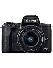Canon EOS M50 Mark II Black BODY + Canon EF-M 15-45mm