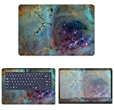 decalrus - Protective Decal Galaxy Skin Sticker for Asus ZenBook Pro UX550 (15.6' Screen) case Cover wrap ASzenbkPro_ux550-74
