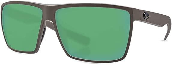 COSTA Rincon Matte Moss & Green Mirror Polarized Sunglasses