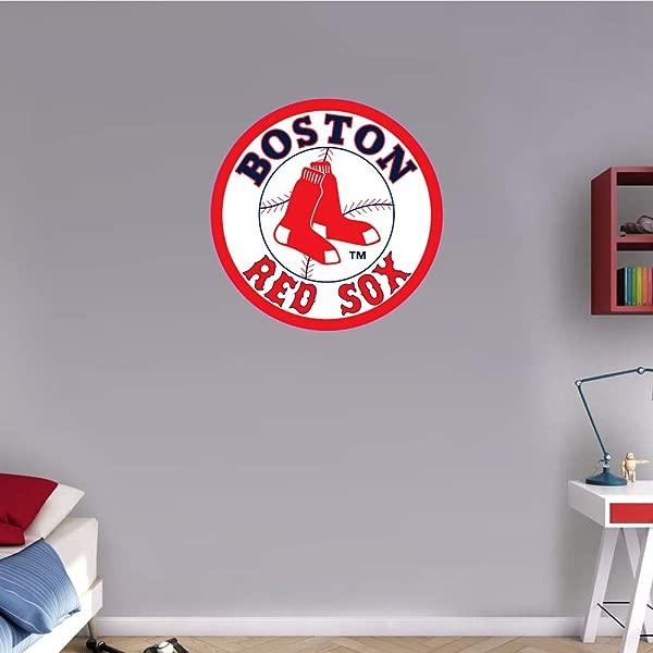Skyhighprint Boston Red Sox MLB Baseball Logo Sport Wall Decor Print Sticker 22 X 22