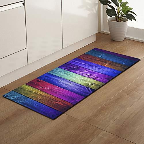 WAZ Teppich Innen Rechteckiger Designer-Teppich Einfache Moderne Bodenmatte Couchtisch Nacht Schlafzimmer 60 * 180cm,A,60 * 180CM