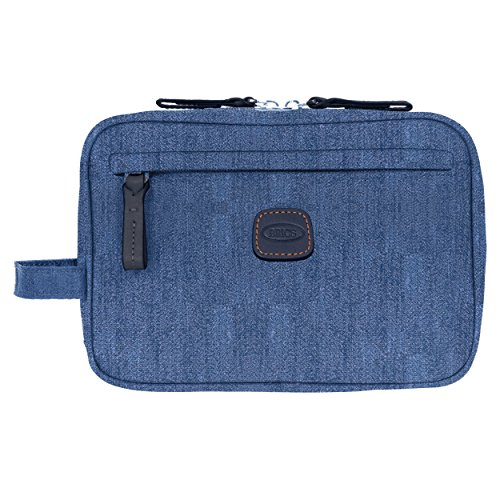 Bric's X-Bag/x Urban Toiletry Dopp Travel Case Shave Kit, Jean