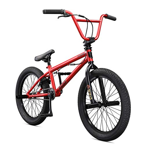 Mongoose Legion L20 Freestyle BMX Bike Line for Beginner-Level to Advanced Riders, Steel Frame,...