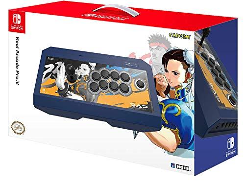 Hori - Real Arcade Pro.V Hayabusa, Edición Street Fighter II Chun-Li (Nintendo Switch/PC)