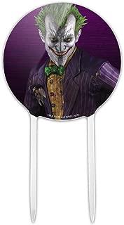 GRAPHICS & MORE Acrylic Batman Arkham Asylum Video Game Joker Cake Topper Party Decoration for Wedding Anniversary Birthday Graduation