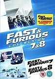 Fast & Furious 7 & 8 (Collection) (2 Dvd) [Edizione: Regno Unito]