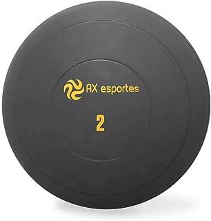 ee6814cc9 Bola Medicine Ball Kick Borracha 2 Kg AX Esportes