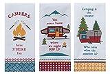 Kay Dee Designs Camping Life Kitchen Tea Towels, Set of 3