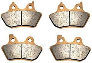 Volar Sintered HH Front & Rear Brake Pads for 2000-2005 Harley Softail Standard FXST