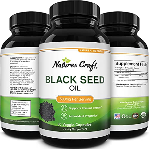 Black Seed Oil Nutritional Supplements