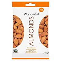 素晴らしいアーモンドの天然115グラム - Wonderful Almonds Natural 115g [並行輸入品]