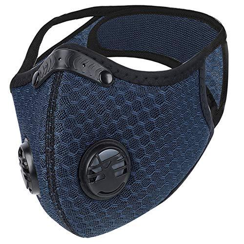 Dulzod Dust Masks Veil Reusable Carbon Activated Filters Black Cloth Face mask Carbon Filter face mask…
