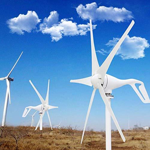 YUYUKUAILAI 5 aerogeneradores de 400W aerogeneradores con el Control Impermeable 12V