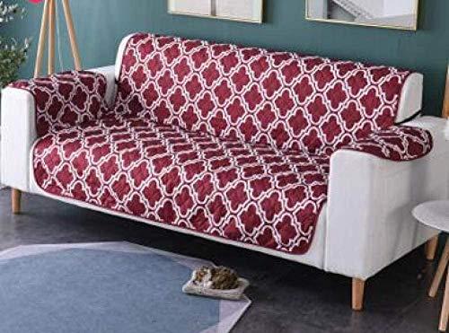 YAOWEI WERTY Impreso Poliéster Anti-agarrar Perro de Mascota Impermeable del Gato del sofá del sofá Fundas de Cojines Perro de Mascota Mat Funda de sofá,3,XL
