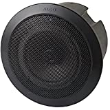 Algo 8188B PoE SIP Ceiling Speaker for Paging, Notification & Music (Black)