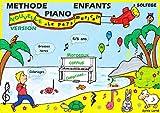 METHODE PIANO ENFANTS avec partie solfège - 'Le pays musical' - 4/7 ans