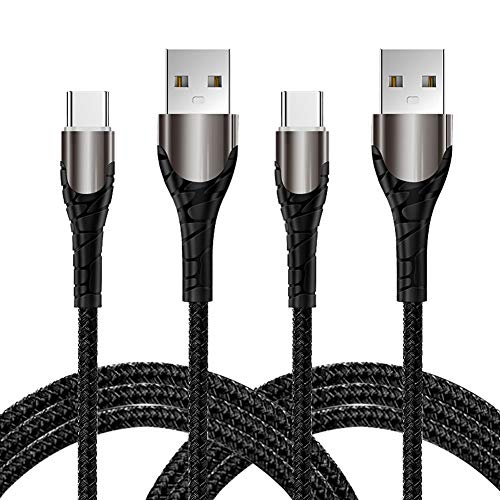 YIANERM Cable USB C de 1M carga rápida, 2 cables tipo C de
