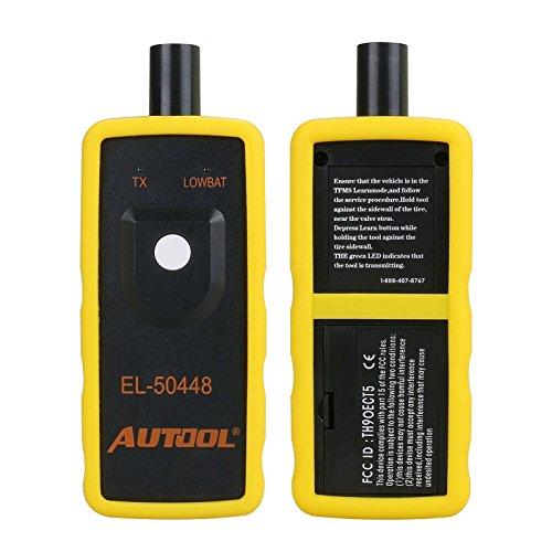 Autool Auto KFZ TPMS Reifendrucksensoren Zurücksetzen Sensor Aktivierung Werkzeug TPMS Reset EL-50448 Für GM 2010-2013 Jahr