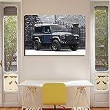 Poster Leinwand Malerei Wandkunst Bild von Auto Wohnzimmer