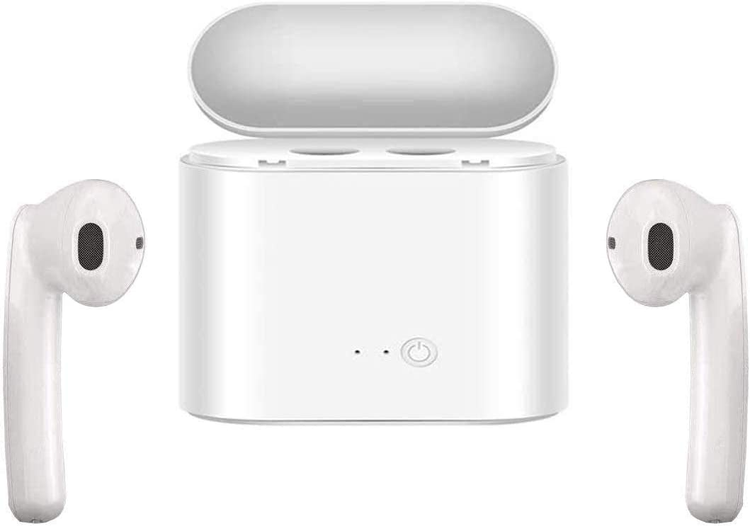 Wireless Earbuds, True Wireless Earbuds Bluetooth Headphones with Microphone Bluetooth Earbuds Stereo Sound