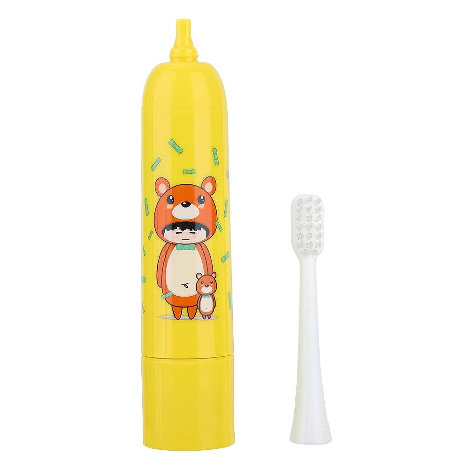 感情偏見親密な充電式歯ブラシ、電動歯ブラシ自動タイマーと精密クリーンブラシヘッドで口腔ヘルスケアのための深いクリーニング(2#)
