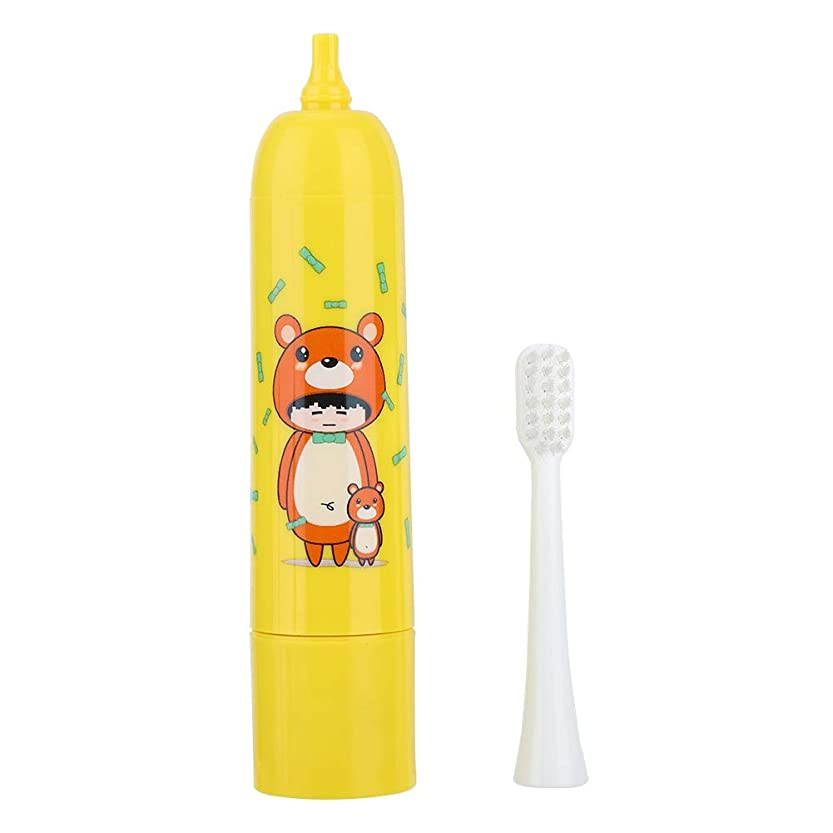 遅滞発生器環境充電式歯ブラシ、電動歯ブラシ自動タイマーと精密クリーンブラシヘッドで口腔ヘルスケアのための深いクリーニング(2#)