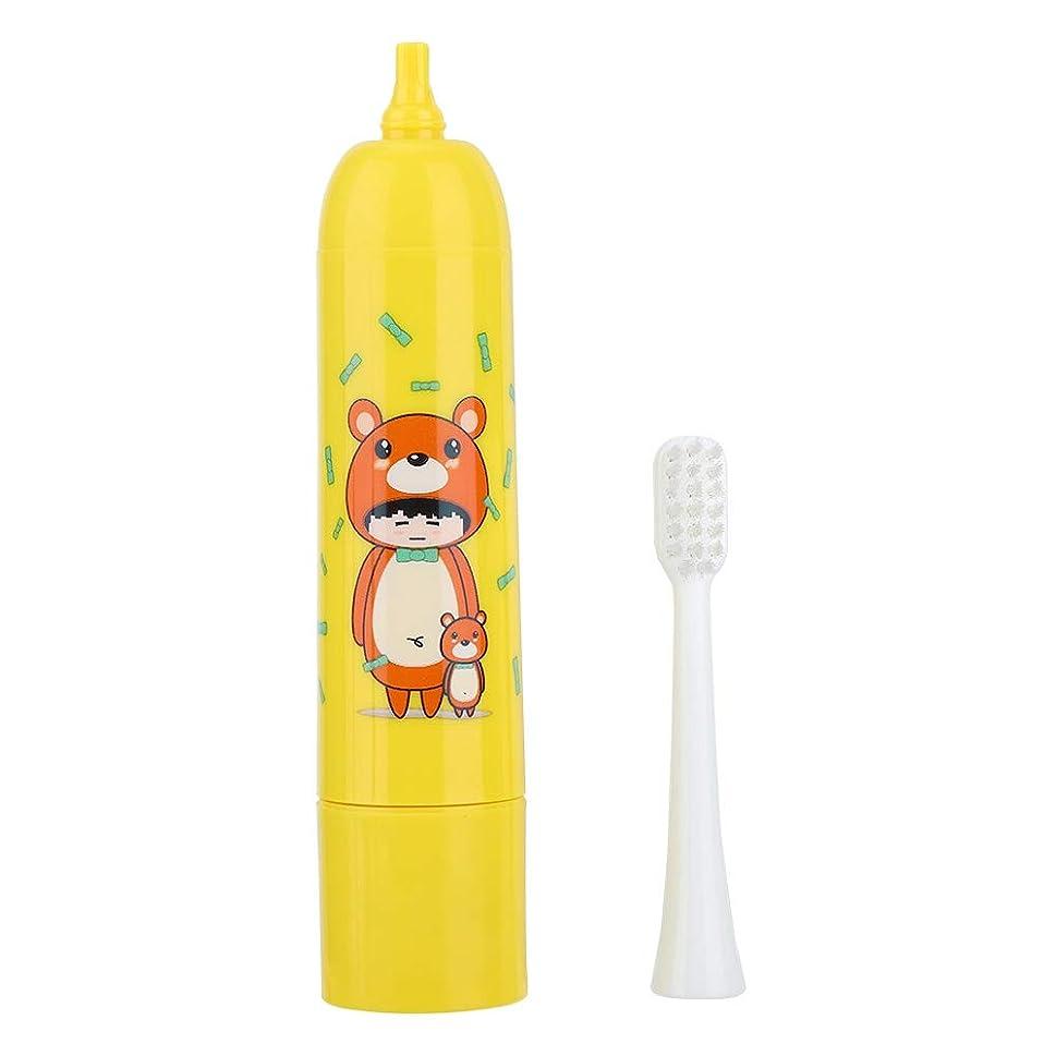ネックレット合理的委託充電式歯ブラシ、電動歯ブラシ自動タイマーと精密クリーンブラシヘッドで口腔ヘルスケアのための深いクリーニング(2#)