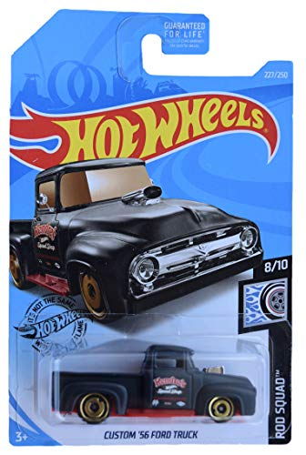 Hot Wheels Custom '56 Ford Truck 227/250, Black