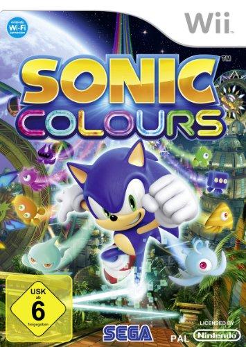 SEGA Sonic Colours, Wii - Juego (Wii, Nintendo Wii, Acción / Aventura, E (para todos))