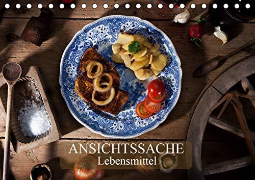 Ansichtssache Lebensmittel (Tischkalender 2021 DIN A5 quer)