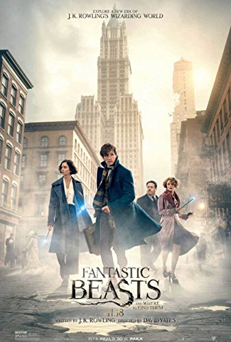 Fantastic Beasts and Where To Find Them Original Filmplakat (Eddie Redmayne Katherine Waterston) Double Sided Final Style Original-Kinoplakat (69Cm X 102Cm)