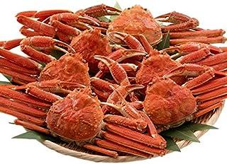 訳あり 港ダイニングしおそう ずわい蟹 3kg (6-8尾入り) 塩ゆで済 生食可 カナダ産ズワイガニ