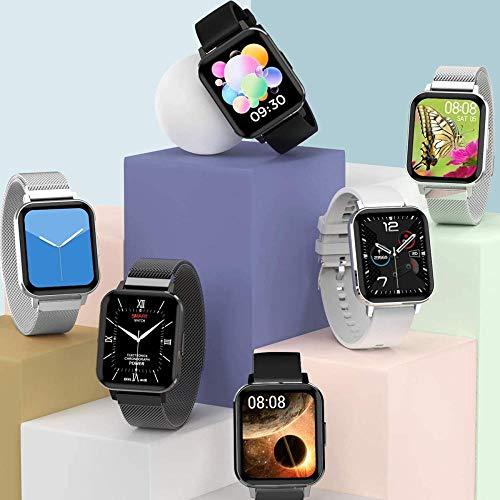 Smartwatch mit Touchscreen, GPS-Positionierungsinformationen, Erinnerung, Bluetooth, Sport, Herzfrequenz, Grün