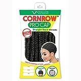 Vivica A Fox Hair Collection Cornrow Pro Cap Straight Back with Comb, Medium, 0.2 Ounce