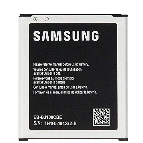 Samsung, batteria originale EB-J100CBE per smartphone Samsung Galaxy J1 (2015) J100/ J100H/ J100F, 1850 mAh, NFC (senza confezione)