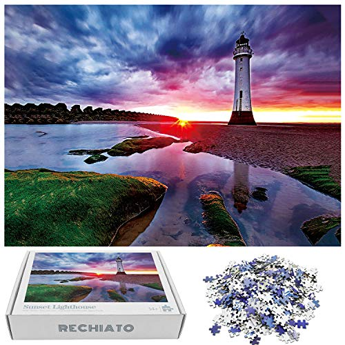 1000 piece puzzles lighthouse - 7