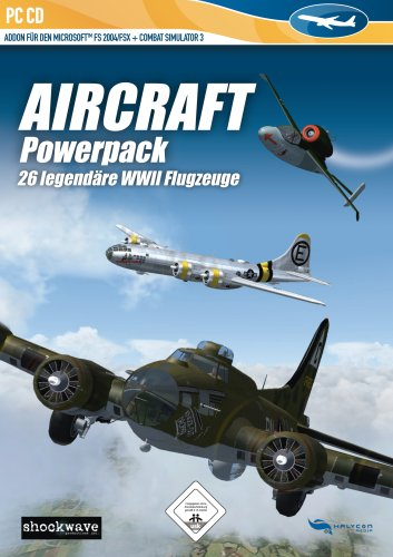 Flight Simulator 2004 - Aircraft Powerpack: 26 legendäre WW2 Flugzeuge (Add-On)