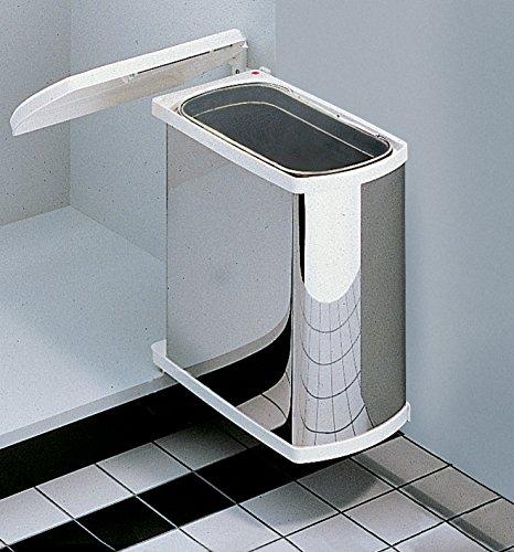 Uno waste bins, for hinged door, 18 litres by Hafele