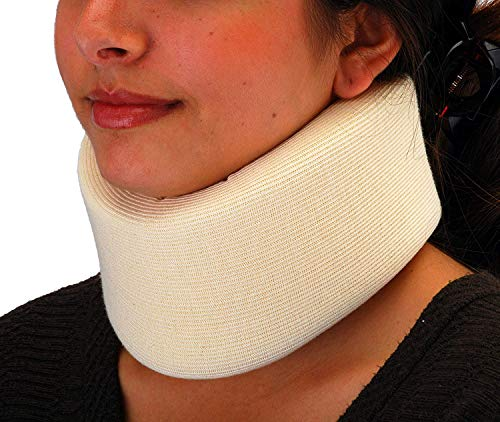"""NOVA Neck Brace, Foam Cushion Cervical Collar, Soft & Breathable Removable Cover, Easy to Adjust and Secure, Comes in 3 Neck Height Sizes: 2.75"""", 3.5"""" & 4"""""""
