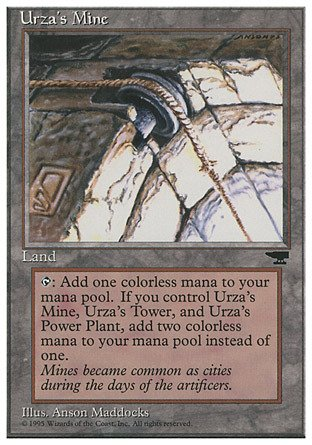 Magic The Gathering - Urza39;s Mine (Pulley) - Chronicles
