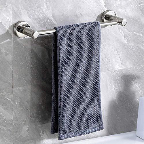 Toallero Baño, Toallero Pared Acero Inoxidable Almacenamiento de toallas de acero inoxidable de acabado pulido, riel de toallas de baño montado en la pared multifunción, barra de toalla doble, para ba