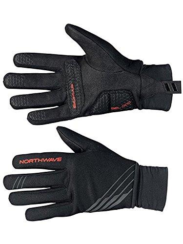 Northwave Mtb Handschuhe Power 2 Gel Full Schwarz (Small , Schwarz)