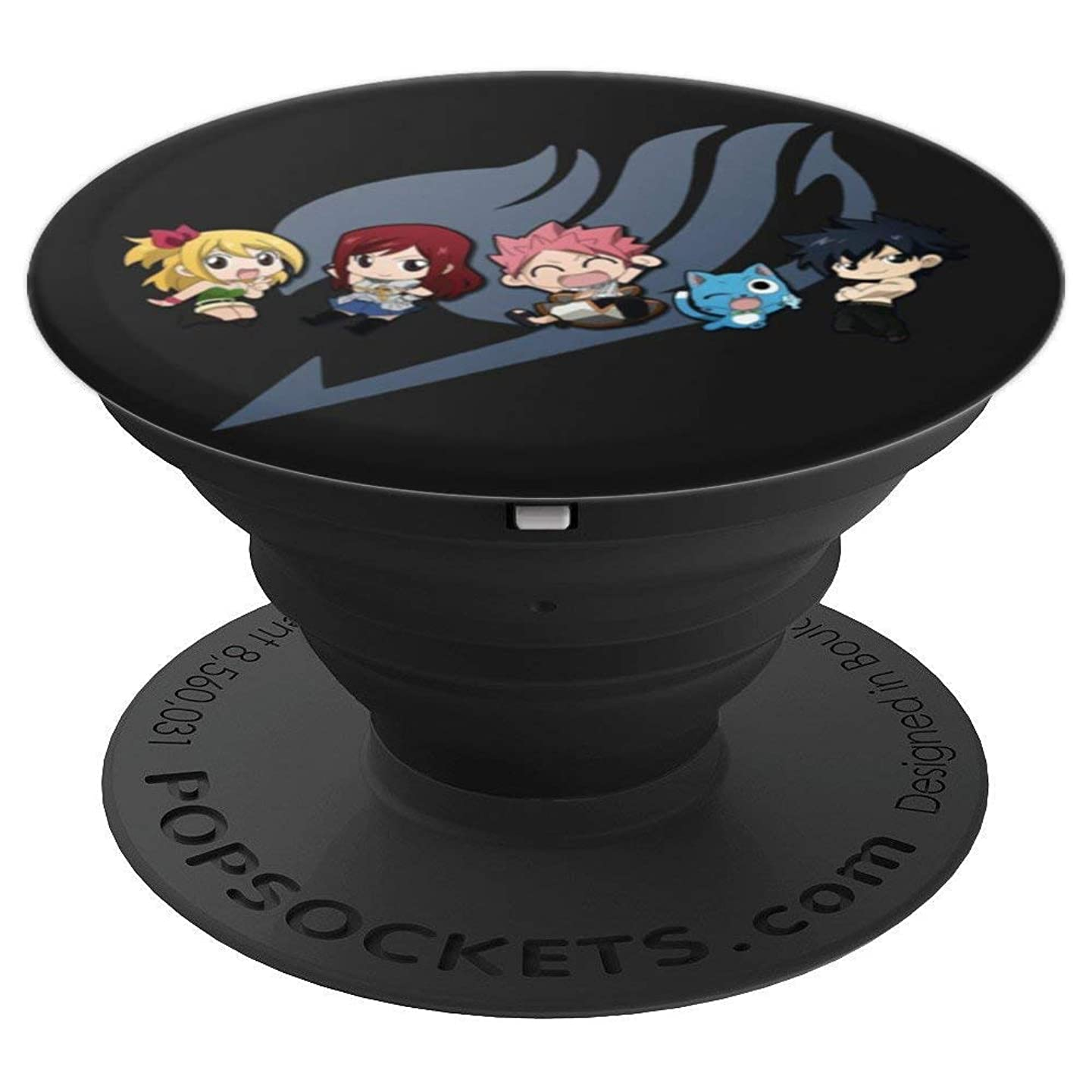 PopSockets: Cute Chibi Fairy Tail Anime Manga Lovers Gift - PopSockets Grip and Stand for Phones and Tablets